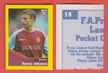 Aston Villa Ronny Johnsen Norway 14 BTL